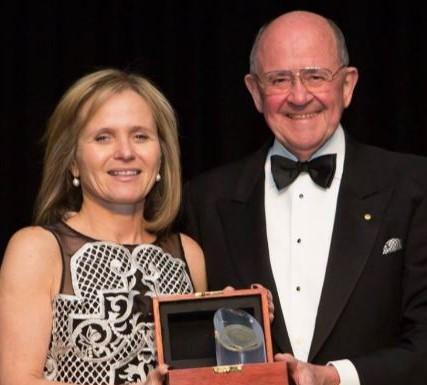 Snowdome Board member wins prestigious 'Peter Wills Medal'