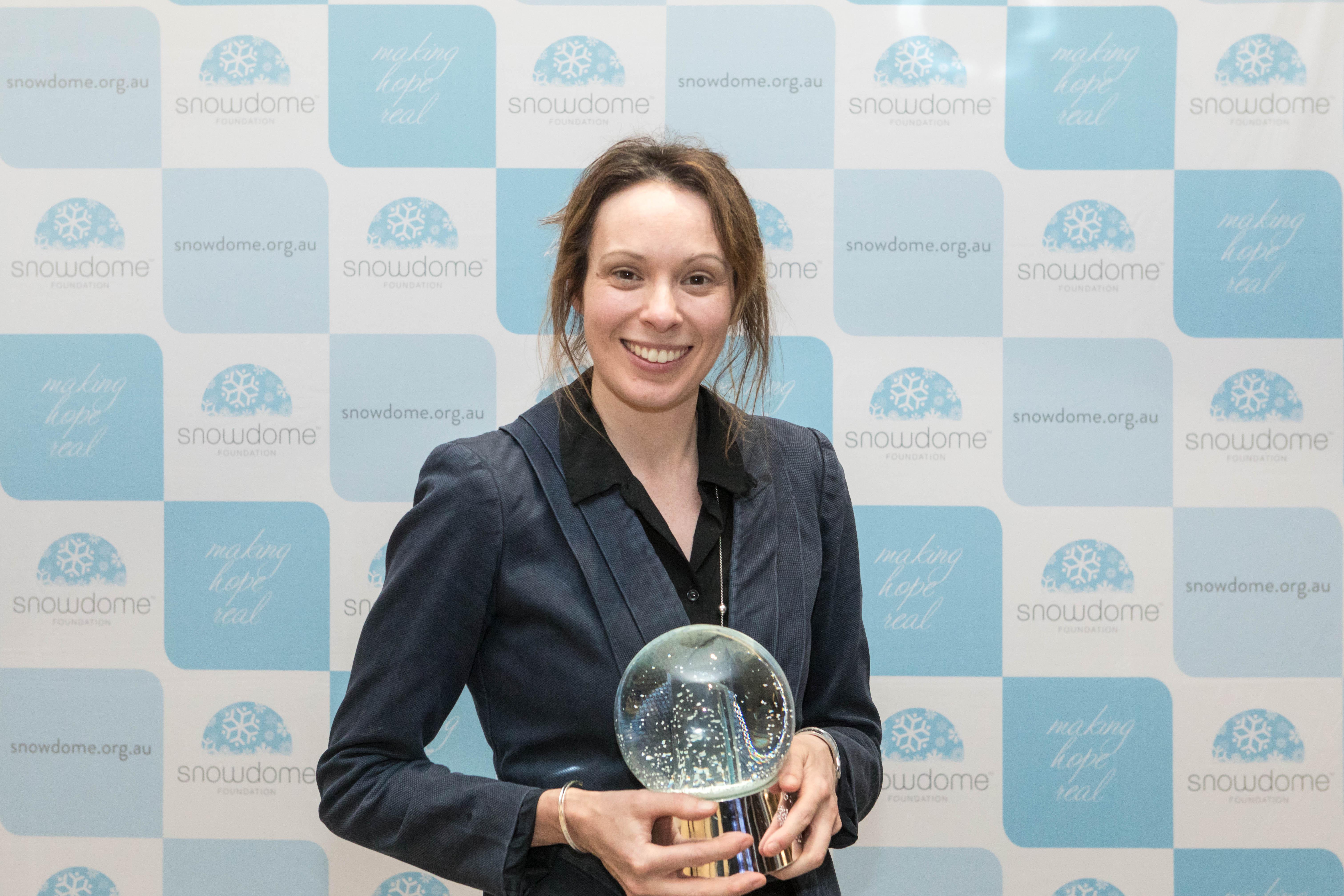 Victorian Premier's Award winner Dr Mary Ann Anderson
